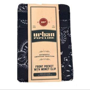 💫NWT🌺Mens Urban Pipeline Money Clip🚀